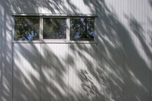 Hala Master okna z zewnątrz
