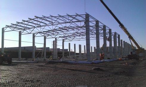 Konstrukcja hali ZOK
